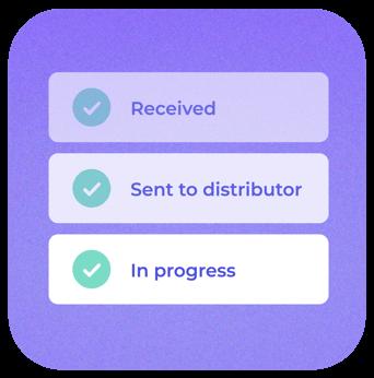 Connect Assist tracks connection progress